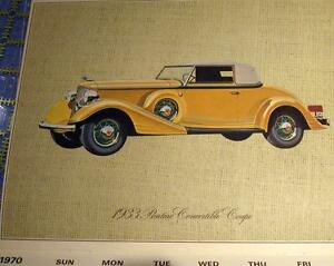 Artist Cliff Kearns Drawings Classic Auto Moments GM Automobiles Oakville / Halton Region Toronto (GTA) image 4
