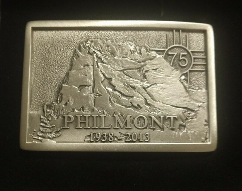 2013 Philmont Scout Ranch 75th Anniversary Numbered Edition Silver Belt Buckle