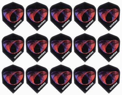 5 New Sets Winmau 3D Metallic Standard Dart Flights – Slinky