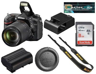 Available Nikon D7200 24.2Mp Dslr Camera + Nikkor 18-140mm Lens + Gratis 8GB Mem Deal
