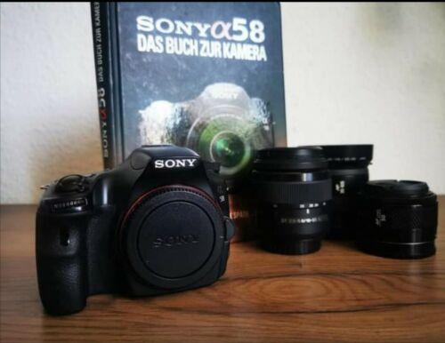 Sony Alpha SLT-A58K 20.1 MP SLR-Digitalkamera Spiegelreflexkamera Sony A58
