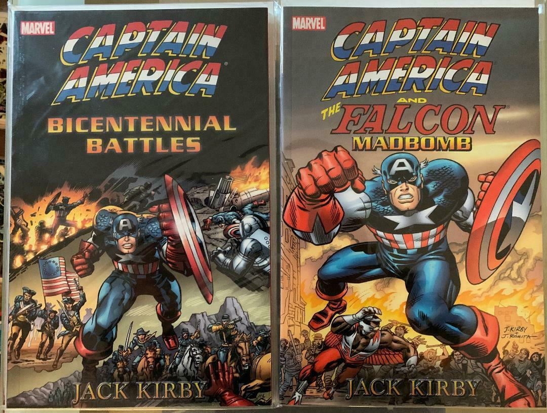 Captain America And The Falcon Madbomb Captain America Bicentennial Battles  - $35.00