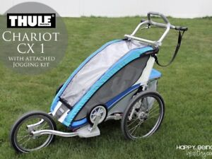 Thule chariot CX 1 place jog/ski/bike and sling