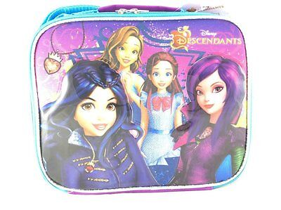 Disney Descendants Family Cartoon Insulated Lunch Bag for Gi