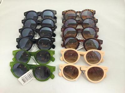 G9505 Vintage Round Women Retro Fashion Sunglasses Wholesale 12 (Wholesale Round Sunglasses)