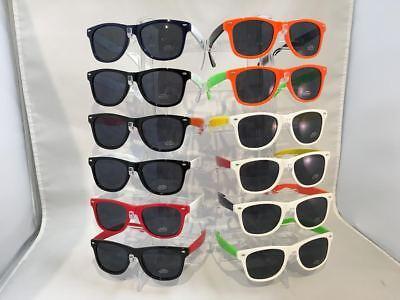 CW7144 Vintage Two-Tone Retro Sunglasses Wayfare Wholesale 12 pair