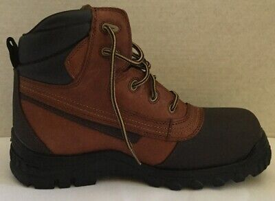 Iron Age Men's Work Boots Brown 10M