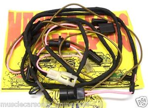 Stupendous El Camino Wiring Harness Wiring Diagram Database Wiring 101 Photwellnesstrialsorg