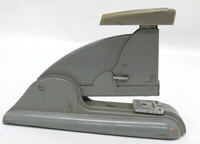 Vintage Tan Swingline Speed Stapler Long Island Ny 1950s Industrial Gray