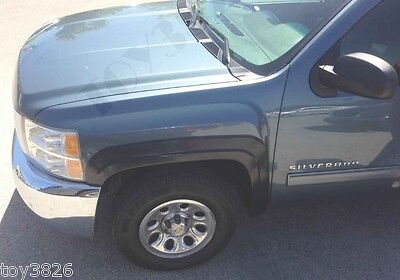 FACTORY STYLE & FINISH FENDER FLARES FOR 2007-2013 CHEVY SILVERADO 2500HD