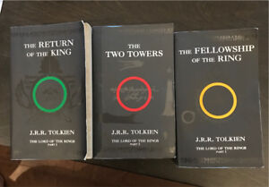 Lord of Rings Part 1, 2 & 3