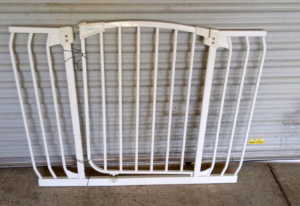 Longer than normal baby gate