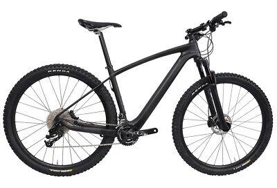 45b37062cf2 29er Carbon Bicycle 22s Complete Mountain Bike Wheels MTB Suspension Fork  17.5
