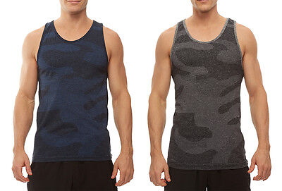 HPE FRESH FIT STRETCH UV PROTECTION SILVER TECHNOLOGY CROSS X SEAMLESS CAMO TANK