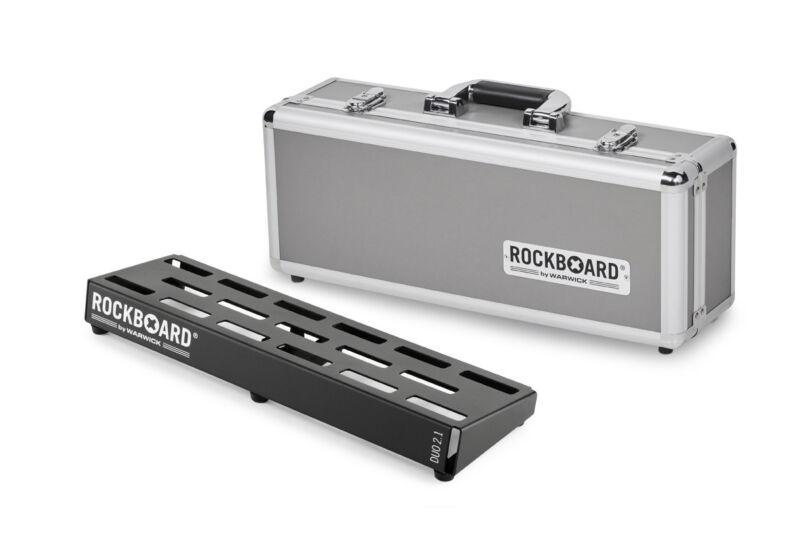 RockBoard DUO 2.1 Pedalboard with Flight Case