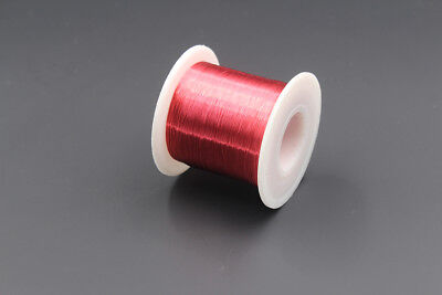 Red Color Enameled Wire 100g 40awg 0.08mm Enameled Copper Wire Magnet Wire