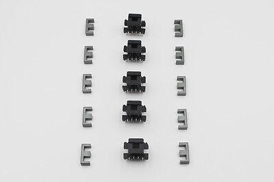 5set Pc40 E19 Ee19 55pins Ferrite Cores Bobbin Transformer Core Inductor Coil