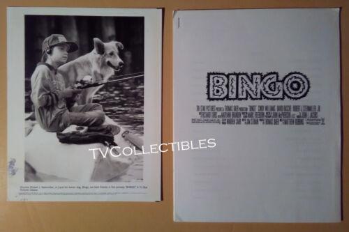Pressbook + Photo~ BINGO ~Dog ~1991 ~Robert J Steinmiller Jr