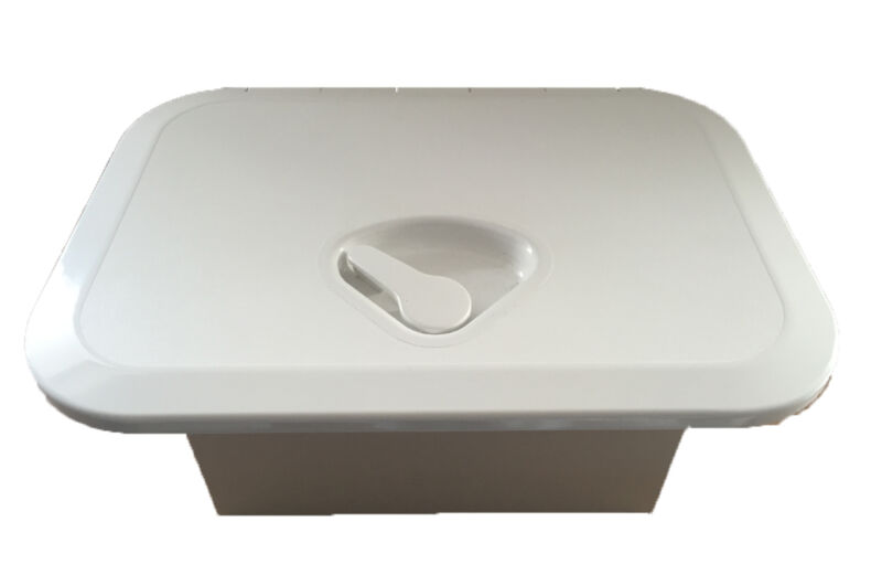 Hatch Boat Caravan RV Mini Glove Box Weatherproof Storage Box Snap Lock Cover