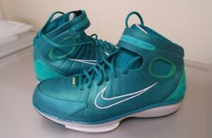 Nike Zoom Huarache 2K4 Lush Teal/New Green Size 11 (Brand New)