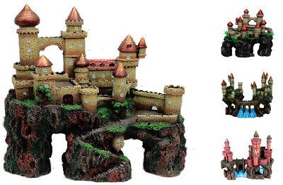 Large Aquarium Castle Ornaments for Fish Tanks. 4 Styles](Large Ornaments)