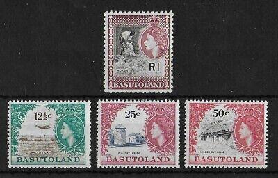 BASUTOLAND 1961-1963 Mint VLH Set of 4 Key Values SG #16-19 CV £110