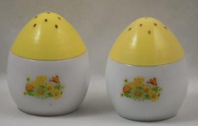 Avon Salt Pepper Shaker Set Imperial Garden Cream Sachet Flowers (Salt Sachet)