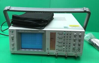 Fluke Philips Oscilloscope 3350a50 W Phillips Passive Scope