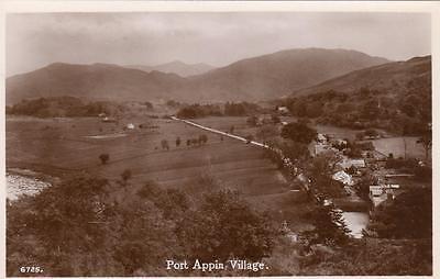 Port Appin village unused RP old pc J B White