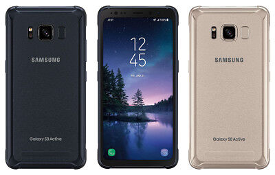Unlocked Samsung Galaxy S8 Active 64GB SM-G892A GSM AT&T LTE Phone - LCD Shadow