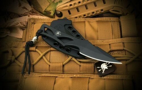 Spartan Blades Knife Enyo Bronze Line Field Grade AUS-8A Black with Sheath