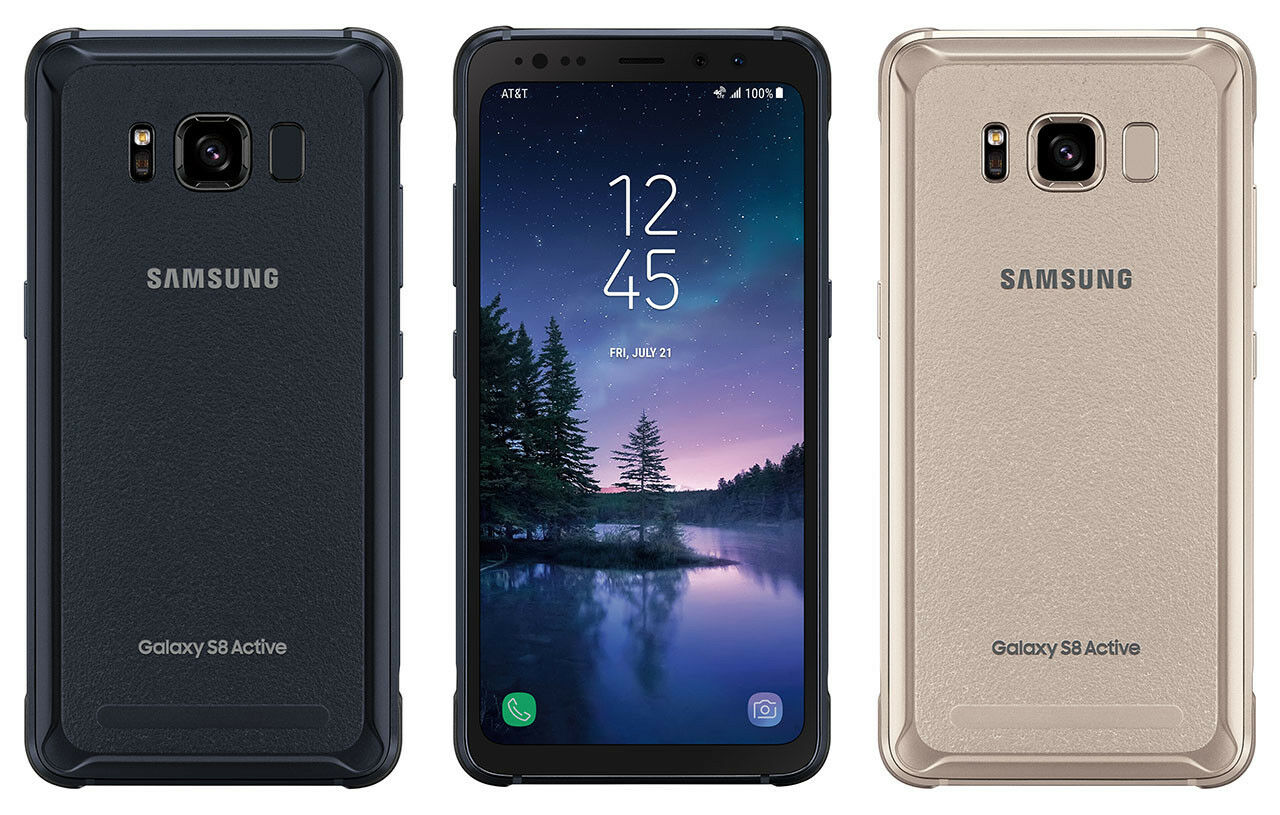 New Samsung Galaxy S8 Active 64GB SM-G892A Unlocked AT&T TMobile Smartphone