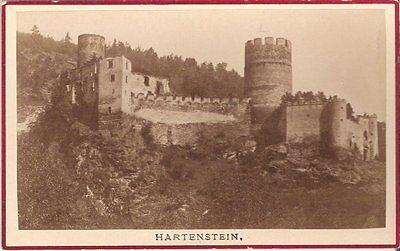 CDV photo Historische Ansicht Hartenstein 1880er