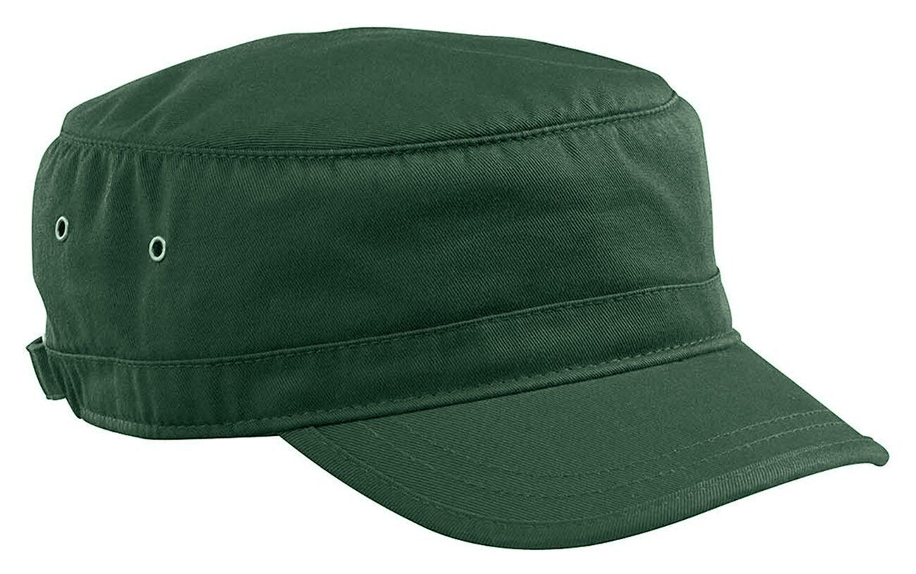 0af47aa133f NEW UNISEX MILITARY FIDEL CADET ARMY HAT CORPS CAP ECO ORGANIC COTTON TWILL  7010