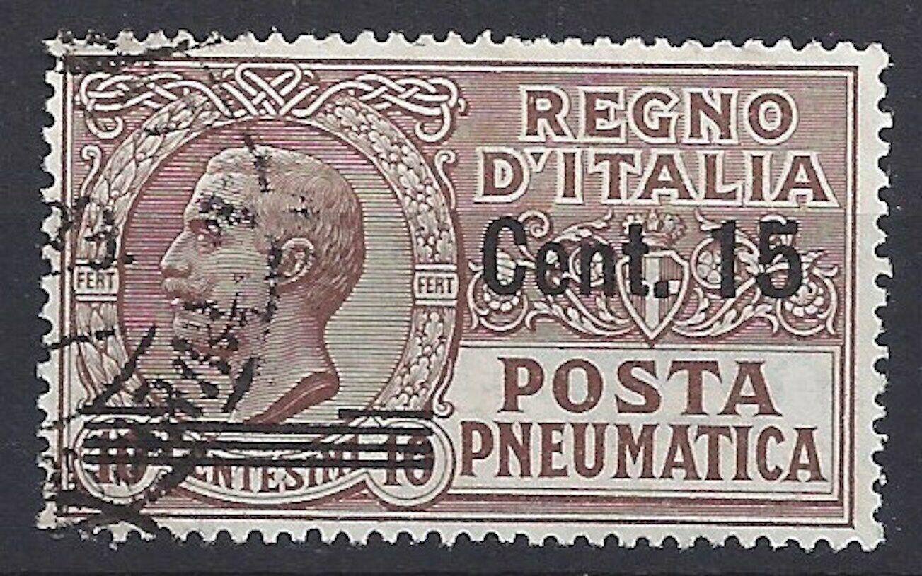 447)) Italien freie Auswahl aus mehrerer Werte oder Sätze gestempelt 4)) 173° Rohrpost