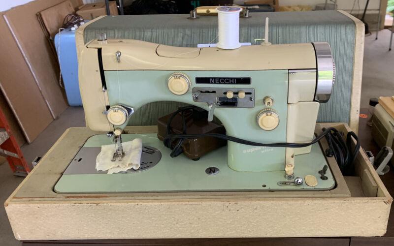 Necchi BF Supernova Ultra  Italian sewing machine w/ controller