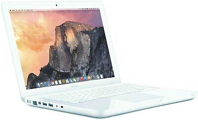 Apple MC516LL/A Macbook, 13.3-inch, Core 2 Duo, 4GB RAM, 250GB HDD - White (R-D)