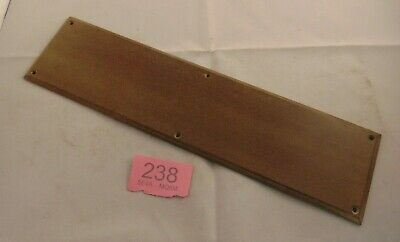 Antique Bakelite  Door Finger Plate Furniture 238