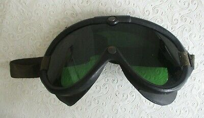 Korean War U.S. Army or Marine Corps Motorcycle or Jeep Goggles M-1944 date 1951