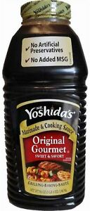 86 oz Jugs Yoshidas ~MR. YOSHIDA's ORIGINAL GOURMET SWEET & SAVORY Cooking Sauce