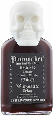 Painmaker Hardcore Extrem Hot! 100ml  in Totenkopf Flasche BBQ Sauce Chili Sauce