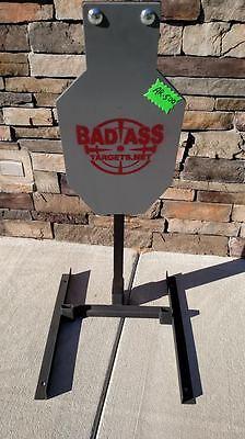 Reactive AR500 AR 500 Silhouette Steel Target System Shoot Steel Pack Mule