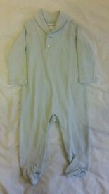 NEW Ralph Lauren light blue sleepsuit 6m