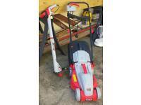 Lawn mower an strimmer