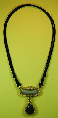 Thai Amulet Black handmade necklace for takrut