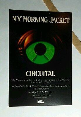 MY MORNING JACKET UNSTAGED CIRCUITAL  4X6 MUSIC POSTCARD Mini POSTER