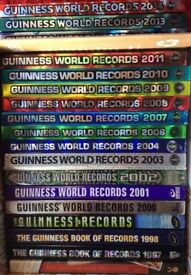 REDUCED 18 Guinness World Record Books