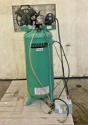Speedaire Air Compressor 4me98a 5hp 240vac 60 Gal