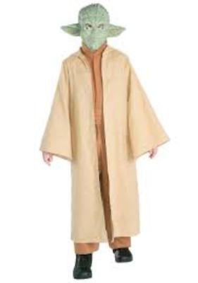 Star Wars YODA Deluxe Child Costume Halloween Small  Medium  Large   B159