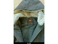 Mens geuine hugo boss coat xl